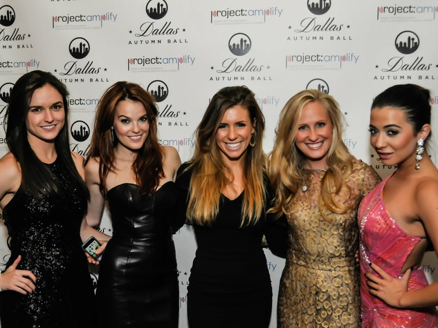 Tori Richard, Alex Williamson, Michelle McAdam, Frances Mitchell, Katie Chu, Dallas Autumn Ball, Hotel ZAZA