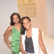 3 Andrea Donelson, left, and Kara Swift at the HFAF at Neiman Marcus Art of Fashion September 2014