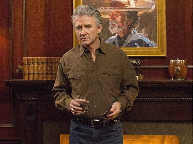Patrick Duffy on season 3 of TNT's Dallas