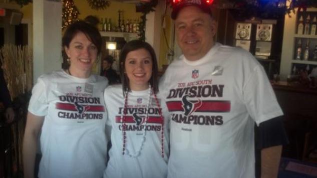 Texans champion T-shirts