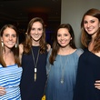 10 Julia Davis, from left, Colleen Wagner, Taylor LeBlanc and Elyse Wasserstrom at the Blue Cure Foundation benefit party at Hotel ZaZa June 2014
