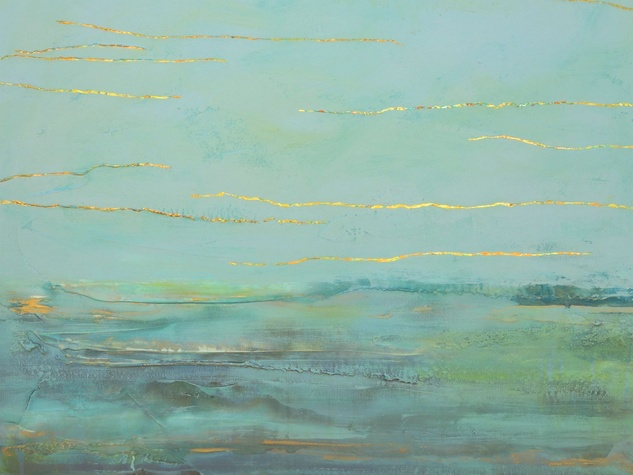 "Annette Palmer: ""Across the Miles"" reception"
