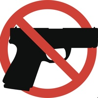 No guns logo