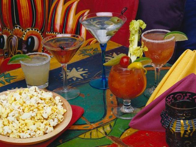 Drinks at Dragon Room in Santa Fe