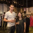 Austin Fashion Week kick off party at estilo 2013 Nicolas Thatcher and Meredith Takahashi