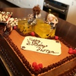 2 Birthday cake with the Rheinmaidens from Wagner's Ring at Perryn Leech's 50th birthday party April 2014