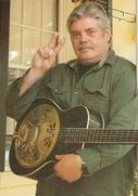 Lloyd Maines with guitar