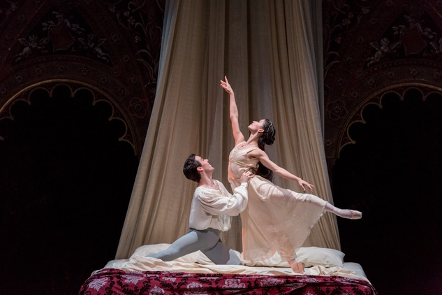 Connor Walsh and Karina Gonzalez Houston Ballet Romeo and Juliet February 2015