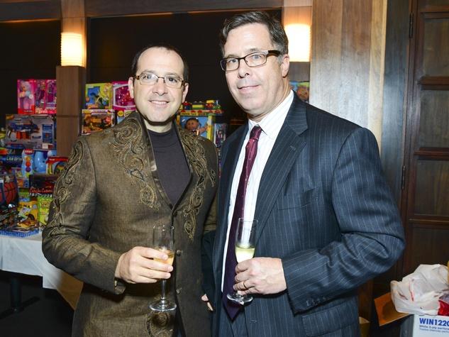 19 Philip Blum, left, and Jerry Martin at Joyful Toyful December 2013