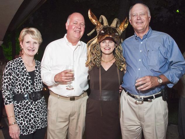 News_009_Bayou Preservation_October 2011_Mary Fuller_Todd Fuller_Elaine Finger_Bill Hardin