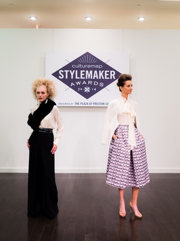 Maleiah Rogers' looks at 2014 CultureMap Stylemaker Awards