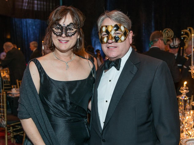 12 Leigh and Reggie Smith Masks at the Houston Ballet Ball February 2015