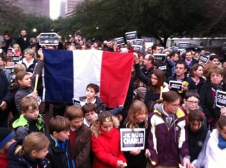 """""""Je suis Charlie:"""" French massacre victims remembered in Houston ... - CultureMap Houston"""