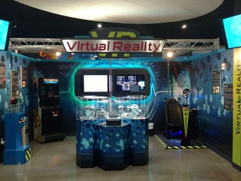 Virtual reality exhibit puts guests in the videogame at Frisco museum