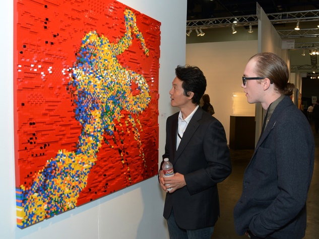 13 Charlie Ahn, left, and Colin Vanwinkle at the Texas Contemporary Art Fair VIP opening party October 2013