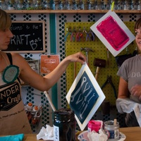 Austin Photo Set: News_Nicole Kreisberg_Wondercraft_August 2011_silkscreen_two