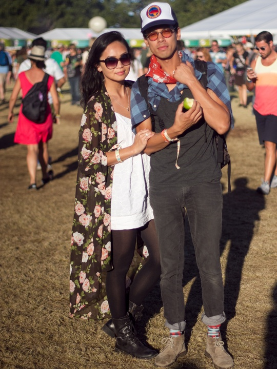 ACL Festival Style 2013 Trisha Dinh Michael Dinh