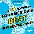 Bon Appetit 50 best new restaurants 2014