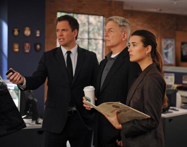 NCIS Gibbs with coffee April 2013