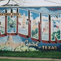 Welcome to Austin mural