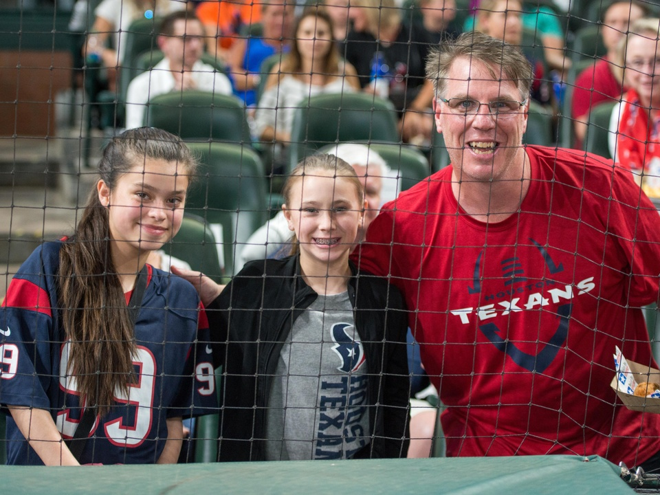 Houston, J.J. Watt Charity Classic, May 2017, Sofia Burns, Elizabeth Perry, John Perry