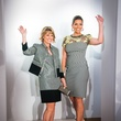 98 Kelley Lubanko, left, and Kaia Kessler at Elizabeth Anthony's Generations of Glamour event May 2014