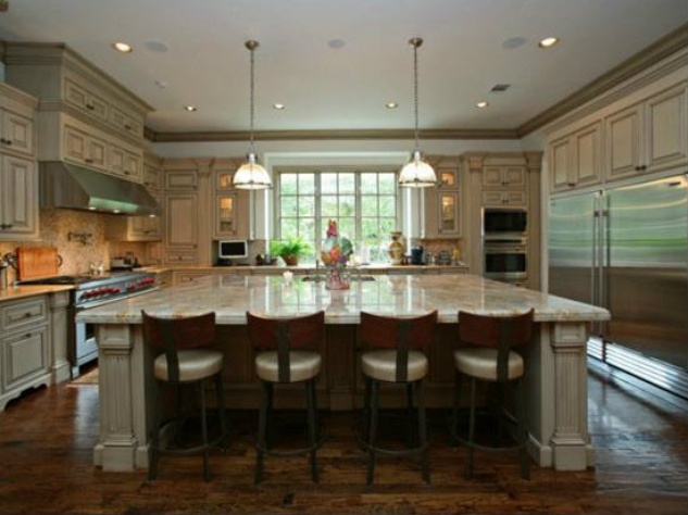 Kitchen at 3801 Normandy Ave. in Dallas
