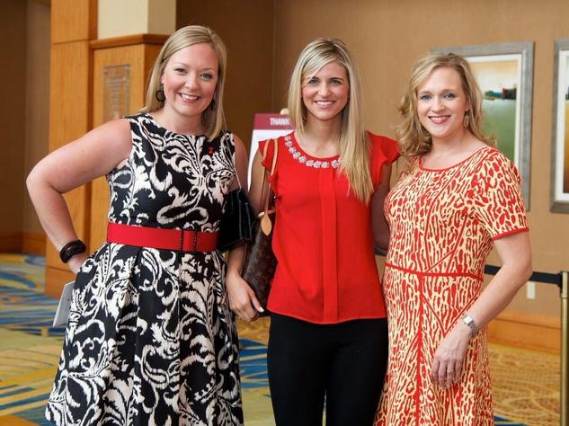 Montgomery County Go Red for Women 2015 Kim Koehn, Casey Gillespie, and Michele Shifflett