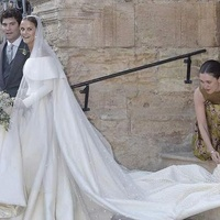 Charlotte Wellesley wedding gown by Emilia Wickstead