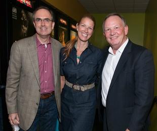 Brent Christopher, Hayley Hamilton Cogill, Gary Cogill, movie premiere