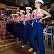 Hillcrest High School Panaders dance team, fof gala