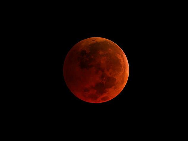 NASA Super blood new moon Supermoon