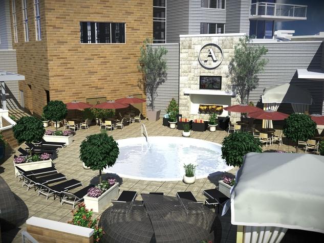 Archer Hotel pool
