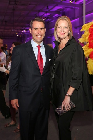 Steve and Joella Mach at the March of Dimes Signature Chefs event October 2014