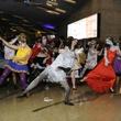 flash mob, bone bash