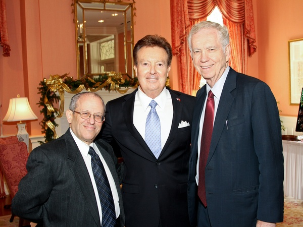 9450, For All Humanity luncheon, December 2012, Elliot Gershenson, E. W. Bill Wright, Charles Foster