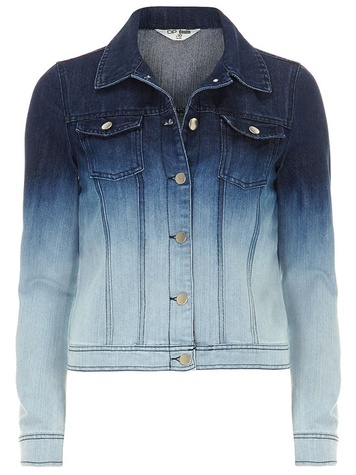 dorothy perkins Dip dye denim jacket