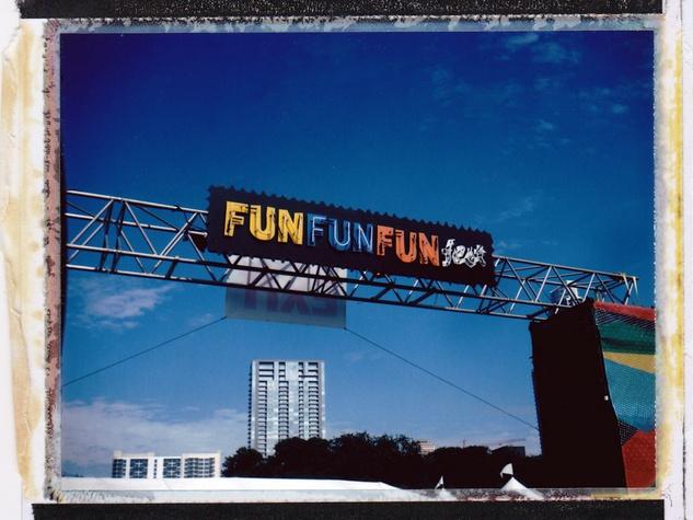 Fun Fun Fest Polaroid Experience 2013 in Austin Fun Fun Fun Fest Entry