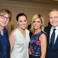 4 Dana Carvey, from left, Jamie Broach and Faith and Lee Majors at the Broach Foundation Gala May 2014