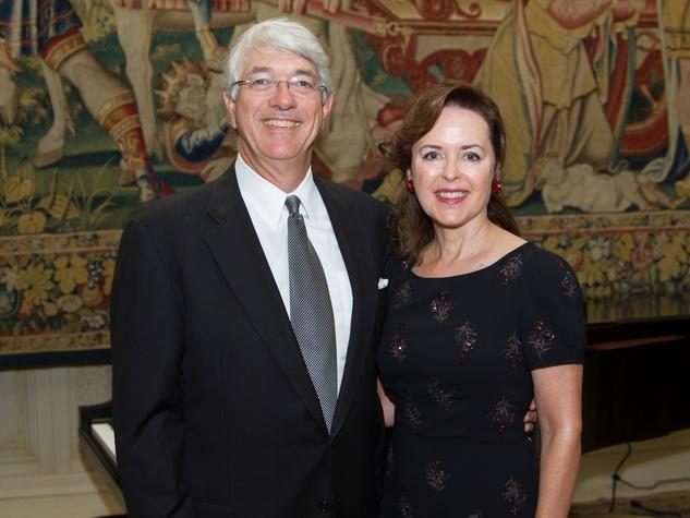 Scott and Karen Rozell at the AVDA event October 2013