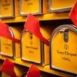 Veuve Clicquot tour mail boxes