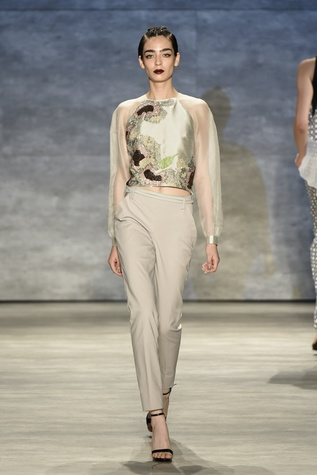 Bibhu Mohapatra spring 2015 collection look 13