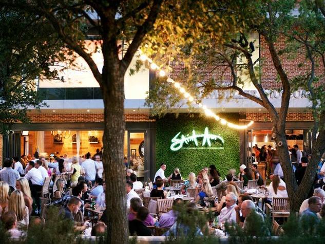 Patio at Saint Ann Restaurant & Bar in Dallas