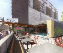 Irene's restaurant downtown Austin ELM Restaurant Group rendering