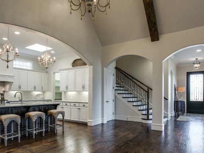 Foyer Plan Kitchen : Slideshow top north texas builders lay out all the trendy