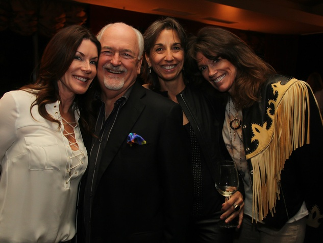 Honorary Chair Holly Forsythe, David Hoener, Lisa Hoener and Cheryl Wylee, spca paws for a cause