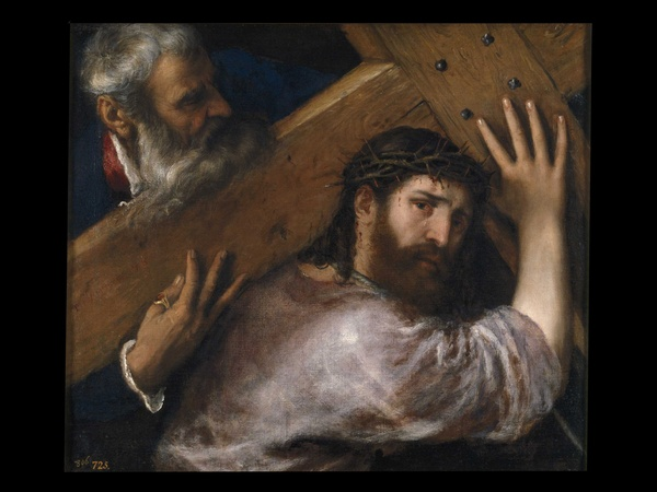 MFAH, Museo Nacional del Prado, July 2012, Titian - Christ Carrying the Cross