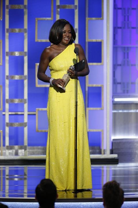 Viola Davis at Golden Globes 2017