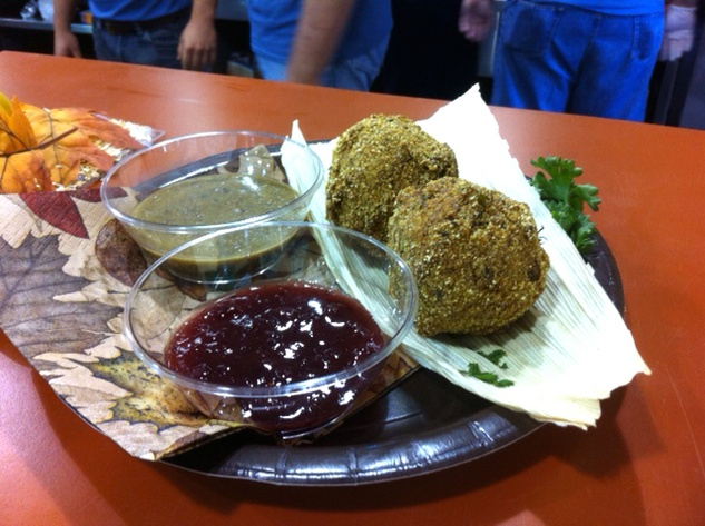Fried Thanksgiving dinner, State Fair of Texas