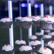 Infinity cupcake wall at Eye Ball 2016